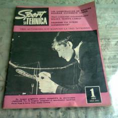 REVISTA SPORT SI TEHNICA NR.1/1971