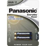 Baterii Panasonic Everyday Power LR03/AAA 2 bucati