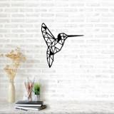 Cumpara ieftin Decoratiune pentru perete, Ocean, metal 100 procente, 49 x 52 cm, 874OCN1010, Negru