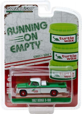 1962 Dodge D-100 - Turtle Wax Solid Pack - Running on Empty Series 7 1:64 foto