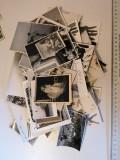LOT 50 POZE / FOTOGRAFII/  VECHI ALB NEGRU