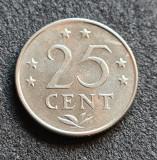 Antilele Olandeze 25 cent centi 1975, America Centrala si de Sud