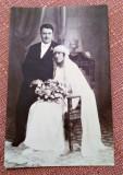 Mire si mireasa - Fotografie datata 1923