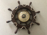Barometru vechi francez,in forma de timona de corabie
