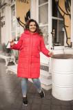 Paltom din făș cu glugă