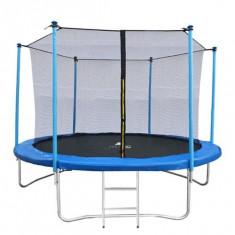 Trambulina Malatec pentru Copii si Adulti cu Scarita, Diametru 252cm 8FT, Capacitate 150kg