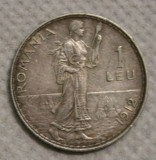 1 LEU 1912 PIESA 1 ., Argint