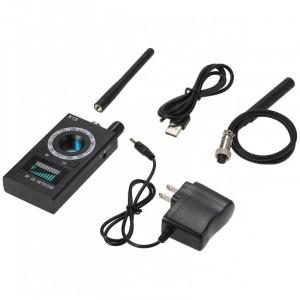 Detector de camere si microfoane spion profesional iUni K18