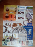 ROMANIA -  LOT 006 - serii + colite stampilate