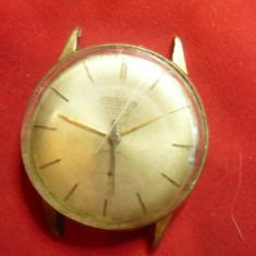 Ceas de mana barbatesc Cornavin  Geneve- Elvetia , 17 rubine- pentru piese