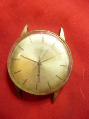 Ceas de mana barbatesc Cornavin  Geneve- Elvetia , 17 rubine- pentru piese foto