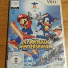 WII Mario & Sonic at the winter olympic games original PAL / by Wadder, Sporturi, 3+, Multiplayer, Sega