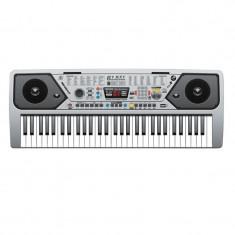 Orga electronica MQ-001UF, USB, 61 clape, 100 timbre, functie MP3, microfon inclus