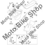 MBS Garnitura buson rezervor KTM 125 EXC 2002 #9, Cod Produs: 59007009000KT