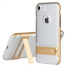 Husa iPhone 7 - Hybrid Kickstand Transparenta