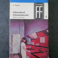 A. BUBULAC - LABORATORUL FOTOGRAFULUI * DOTARE SI AMENAJARE volumul 3