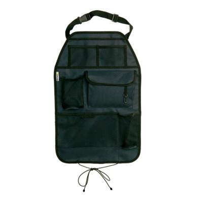 Protectie spatar scaun auto Cover Me Deluxe, suport pentru pahare integrat, 38 x 58 cm foto