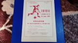 program   Muresul  E.  Deva   -  Dinamo  Victoria  Buc.