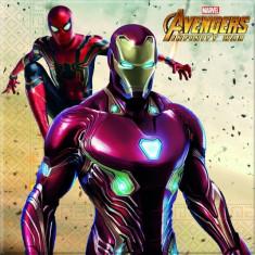 Servetele Avengers Infinity War Party 33x33 cm set 20 buc