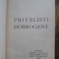 MIHAIL SADOVEANU - PRIVELISTI DOBROGENE - 1914 =EDITIE PRINCEPS