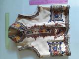 Vesta costum popular copil mic, veche, inceput sec.20