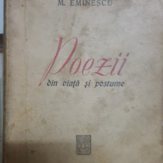 Mihai Eminescu, Poezii din viață și postume, Editura Lutetia