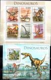 SAO TOME PRINCIPE 2010, Fauna Dinozauri, serie neuzata, MNH