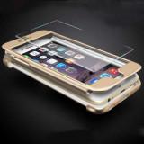 HUSA FullBody MyStyle iPaky Original Gold pentru Apple iPhone7 Plus acoperire completa 360 grade cu folie de protectie gratis