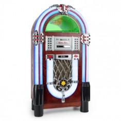 Auna Graceland TT Jukebox Bluetooth Fono CD USB SD MP3 AUX FM