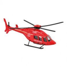 Elicopter de Salvare cu Rotor Manual BELL429 Rosu