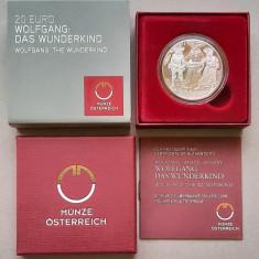 Moneda tematica de argint - 20 Euro 2015, Austria - Proof