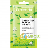 GREEN TEA POWER Masca de Fata Detoxifianta 2 in 1 cu Ceai Verde 8g