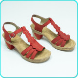 DE FIRMA→ Sandale dama, piele, frumoase, comode, fiabile, RIEKER → femei | nr.40