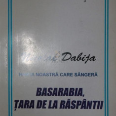 HARTA NOASTRA CARE SANGEREAZA BASARABIA , TARA DE LA RASPANTII - NICOLAE DABIJA