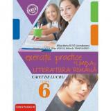 Exercitii practice de limba Romana, caiet de lucru, clasa a VI-a, 2018-2019, Mina-Maria Rusu coordonator