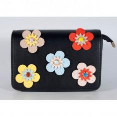 Poseta neagra cu flori (cod 543001)