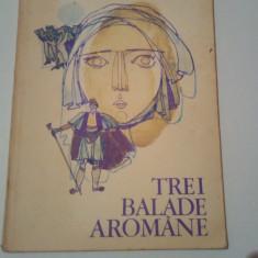 TREI BALADE AROMANE ( PE MOTIVE FOLCLORICE ) ~ HRISTU CANDROVEANU