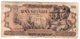 Bancnota 100 lei 1947  27 august uzata