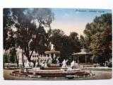 CLUJ - FANTANA ARTEZIANA DIN PARCUL ORASULUI - INCEPUT DE 1900