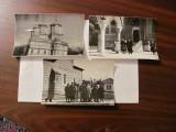 PVM - Lot 6 fotografii vechi tema religie 17,50 cm x 11,50 cm martie aprilie '62, Alb-Negru, Romania de la 1950