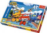 Puzzle clasic pentru copii - Avioane fericite 24 piese