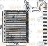 Vaporizator / Evaporator aer conditionat BMW X6 (E71, E72) (2008 - 2014) HELLA 8FV 351 331-291