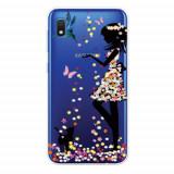 Cumpara ieftin Carcasa Husa Samsung Galaxy A10 model Colorful Life, Antisoc + Folie sticla securizata Samsung Galaxy A10 Tempered Glass Viceversa
