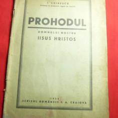 I.Chirescu - Prohodul Domnului Nostru Iisus Hristos -Ed. 1936 -Partitura si text