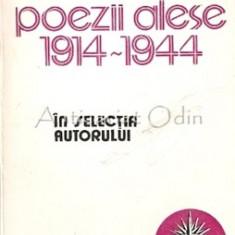 Poezii Alese 1914-1944 - Nichifor Crainic