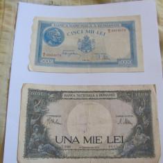 5000 lei 1944/1000 lei 1941