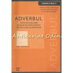 Adverbul - Odarca Bout - Proiectare Didactica Si Evaluare Scolara