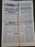 Ziarul Scanteia 31 august 1989