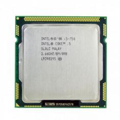 Procesor Intel Core i5-750 2.66GHz, 8MB Cache, Socket 1156