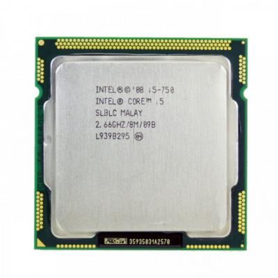 Procesor Intel Core i5-750 2.66GHz, 8MB Cache, Socket 1156 foto